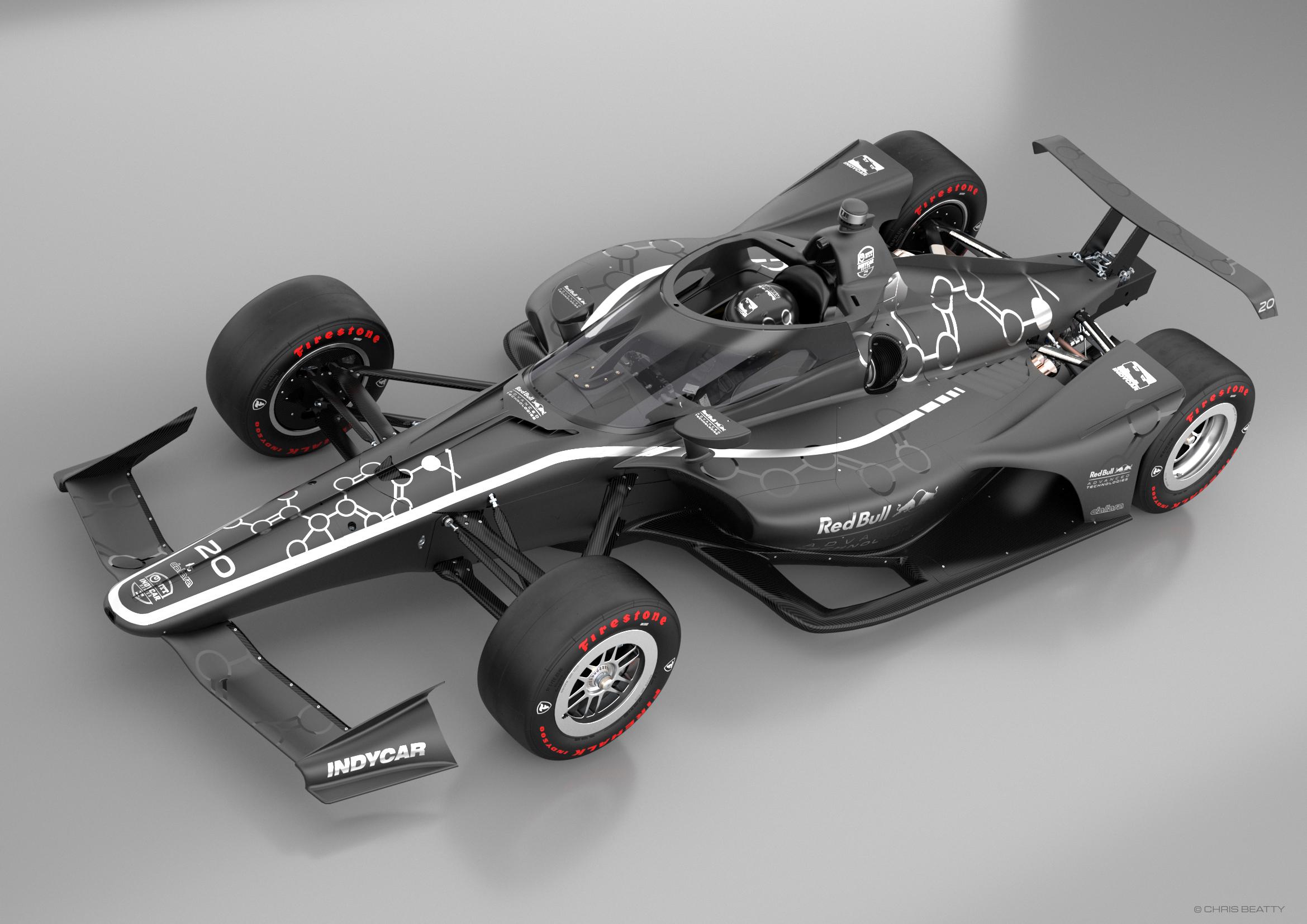 Red Bull IndyCar Aeroscreen