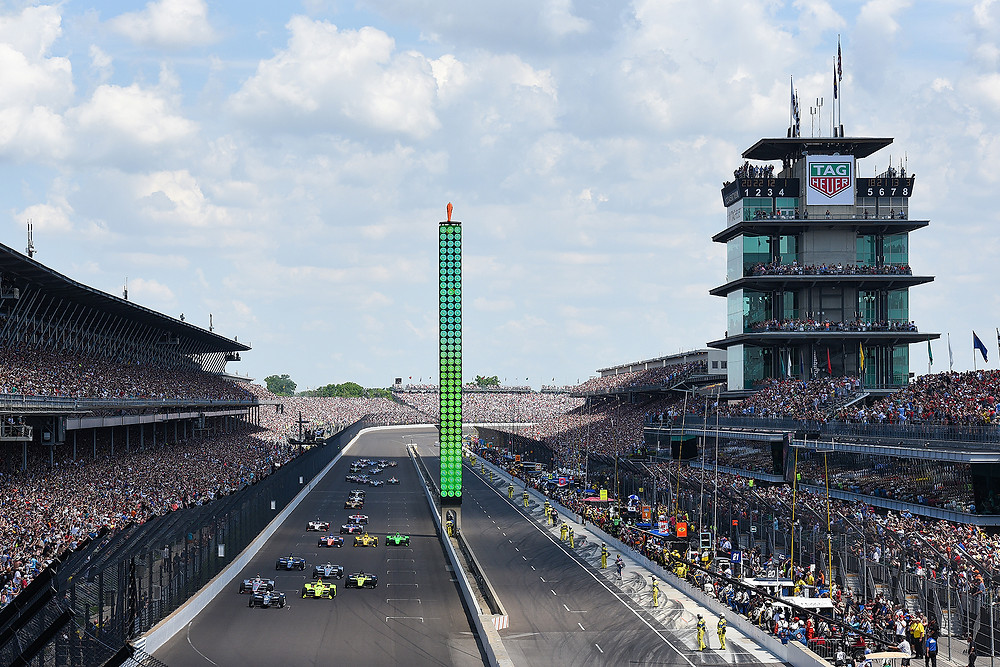 Start of the 2018 Indy 500