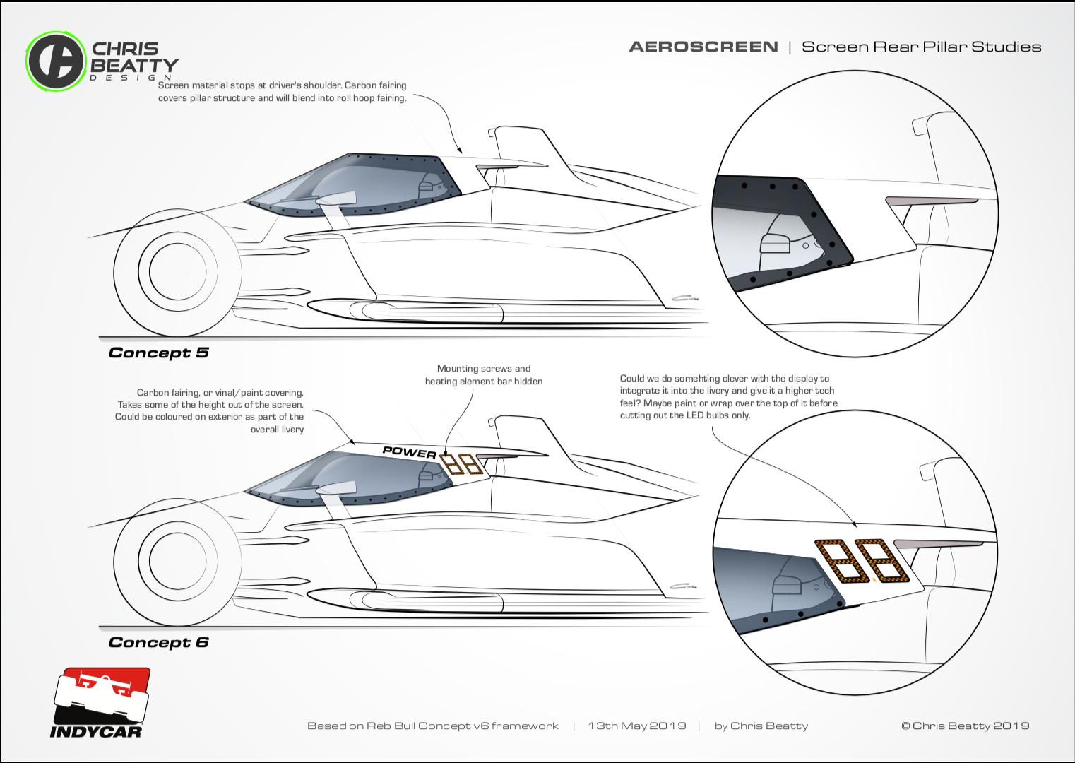 Aerscreen Sketches 3