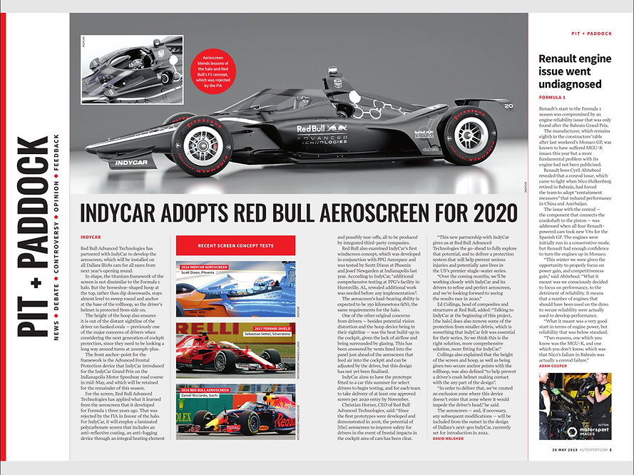 Autosport Article