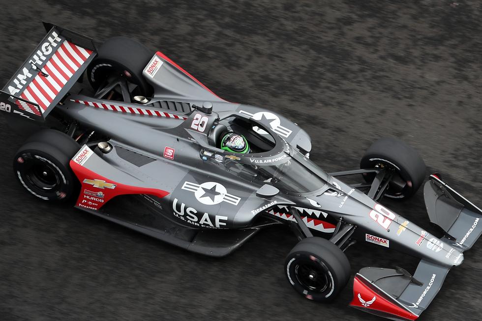 Redbull Indycar Aeroscreen