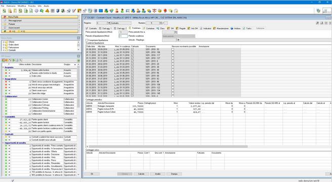 Gestione contratti software assistenza t