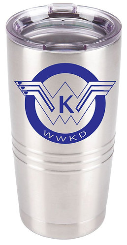WWKD 20 Oz Double-Wall Insulated Stainless Steel Tumbler
