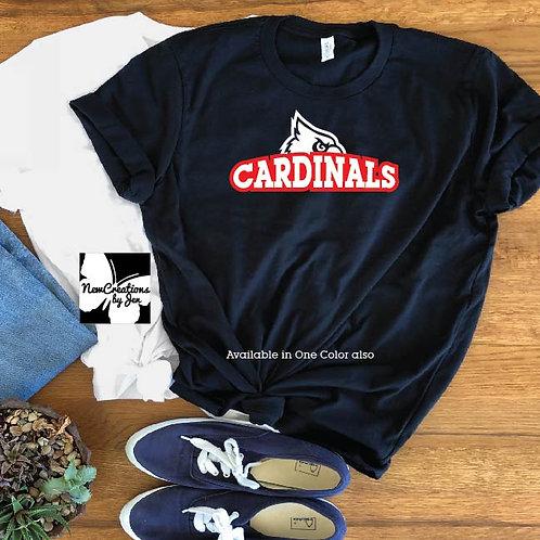 Cardinal Fan Unisex Premium T-Shirt 3001C