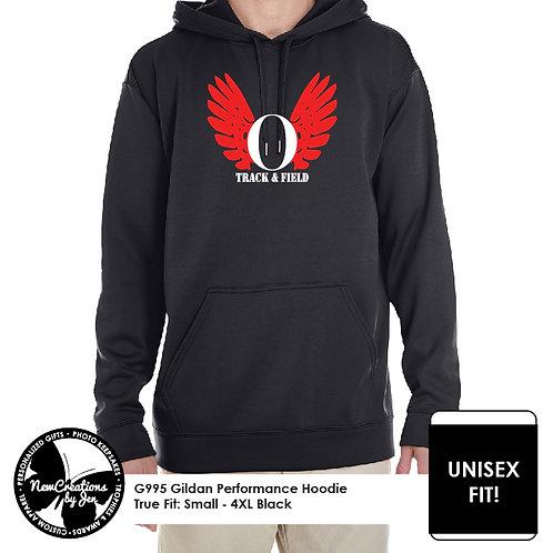 OHSTRACK - G995 Gildan Adult Performance Hooded Sweatshirt