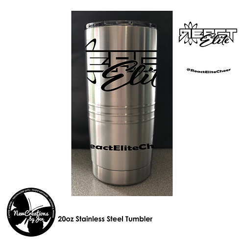 REACT 20 Oz Insulated Stainless Steel Tumbler
