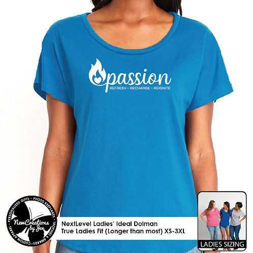 PASSION - 1560 NextLevel Ladies' Ideal Dolman