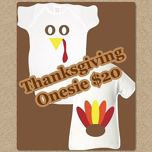 Thanksgiving Onesie