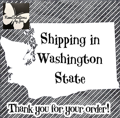 Shipping in Washington State - small item
