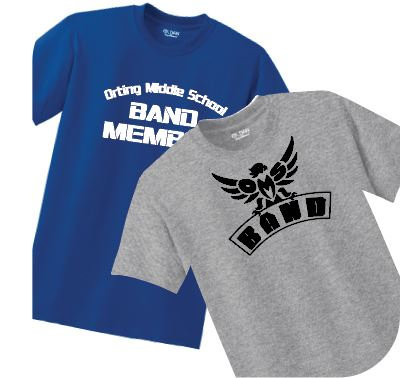 OMS Band - G800 - DryBlend T-Shirt