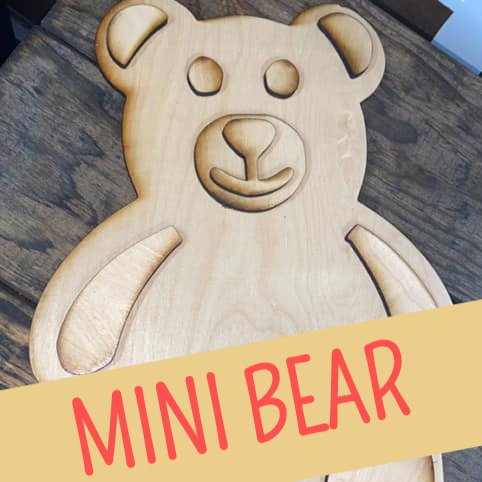 MINI Bear Hunt Bear - Unfinished