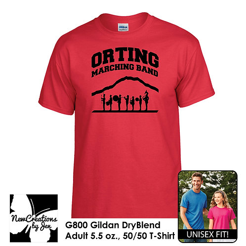 OMB G800 DryBlend Short-Sleeve T-Shirt