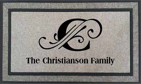 Welcome Mat - Stock Art or Personalized