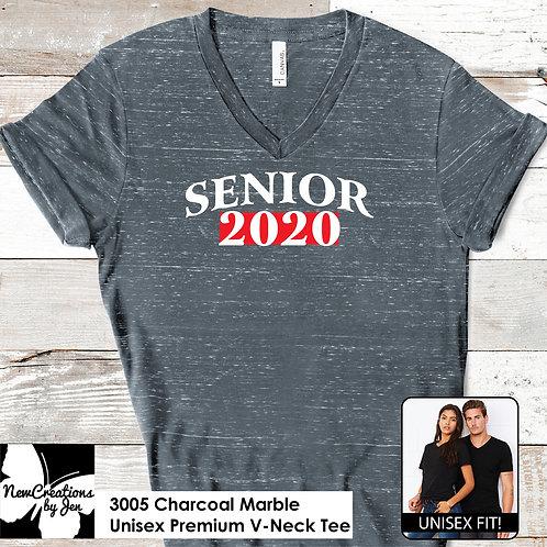 CBBC 3005 BC Unisex Premium V-Neck T-Shirt