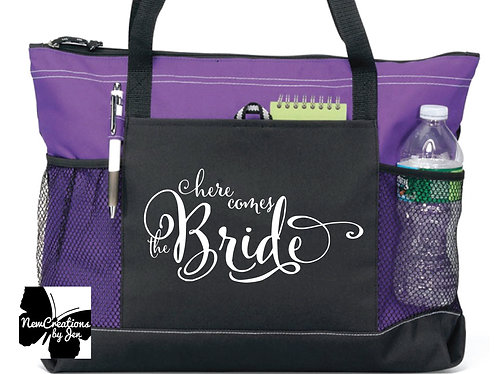 W1100 Large Custom Zippered Bag