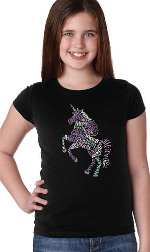 Magical Unicorn Sparkle Princess Shirt
