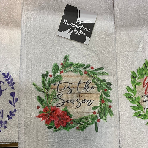 Kitchen Towels with Full Color Art