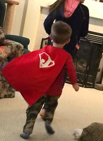 Toddler Cape - Personalized or BLANK
