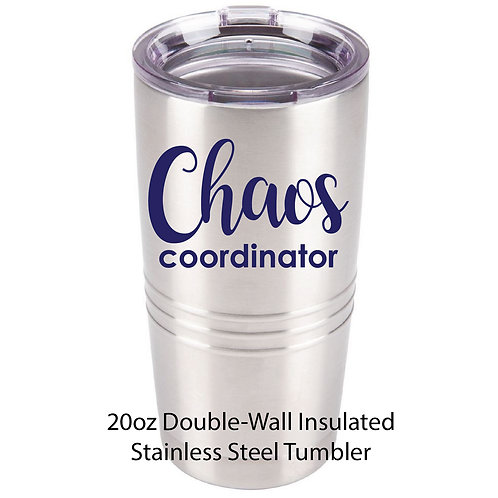 FH 20 Oz Double-Wall Insulated Stainless Steel Tumbler