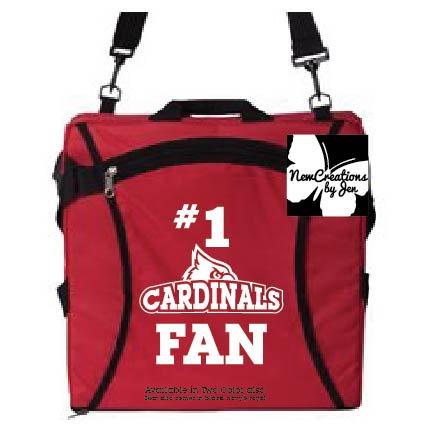 Cardinal Fan Folding Stadium Seat - FT006