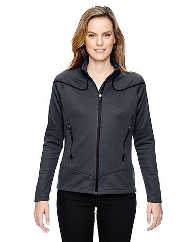 78806 Ash City - North End Ladies' Cadence Interactive Two-Tone Brush Back Jacke