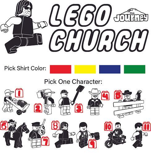 Lego Church T-Shirt