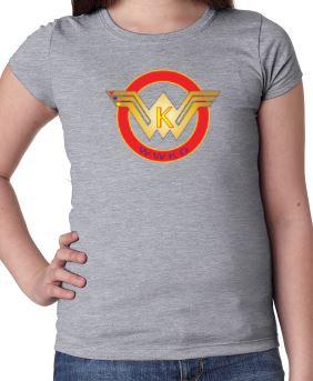 WWKD N3710 Girls' Princess T-Shirt