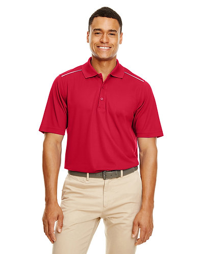 88181R Core 365 Men's Radiant Performance Piqué Polo with Reflective