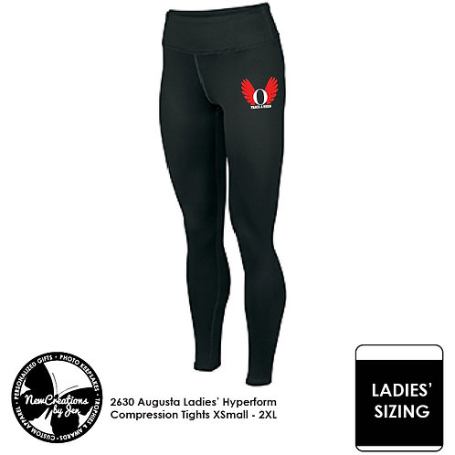 OHSTRACK - 2630 Augusta Ladies' Hyperform Compression Tights