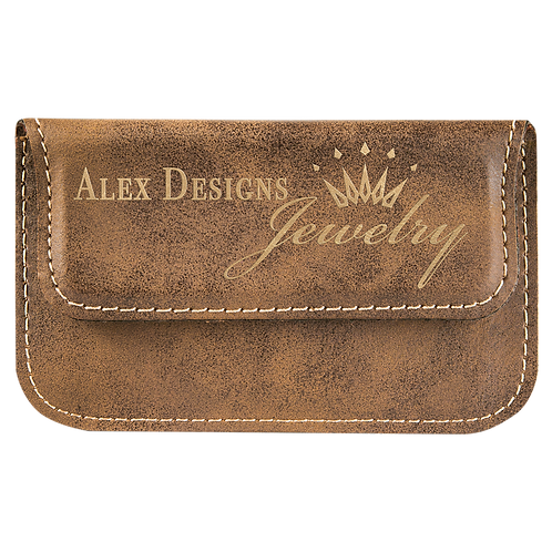 Leatherette Flexible Card Case
