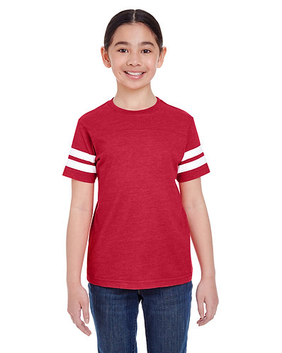 6137 Youth Football T-Shirt