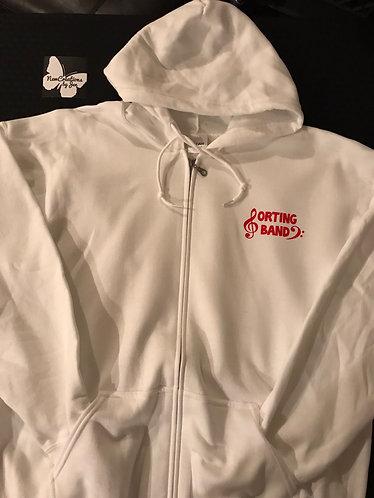 G186 Unisex Full Zip Sweatshirt