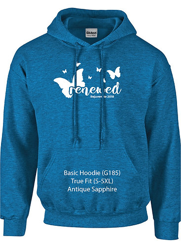 FH Rejuvenate - G185 Basic Hooded Sweatshirt