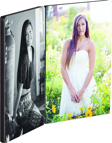 Hinged Photo Panels Flat Top 5 x 7