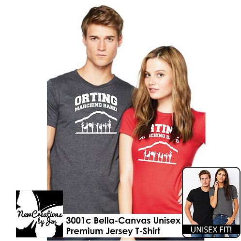 OMB 3001C BC Unisex Premium T-Shirt