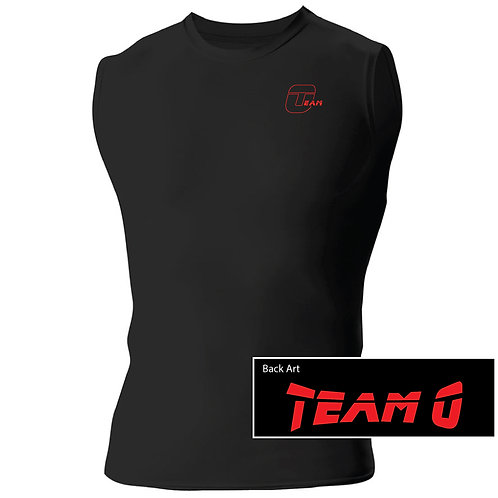 Team O N2306 A4 Men's Compression Muscle Shirt