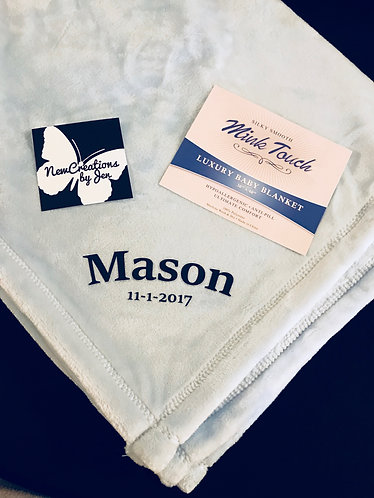 Alpine Fleece Mink Touch Luxury Baby Blanket