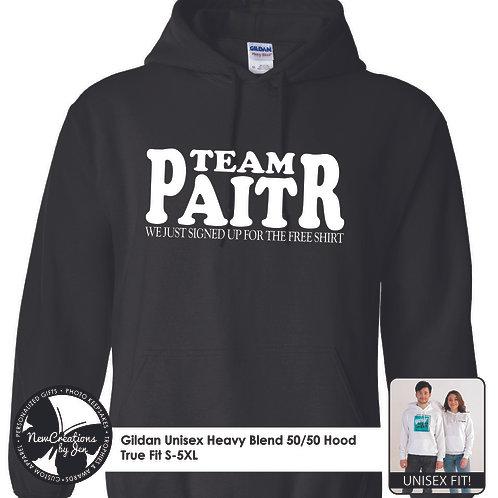 TWR TEAM PAITR Basic Hooded Sweatshirt