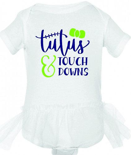 Tutus & Touchdowns Tutu Onesie