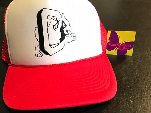 H-088 Basic Trucker Hat w/ Mesh Back Adjustable Snapback Cap