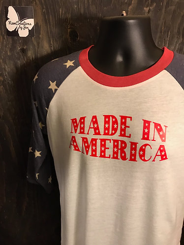 AA2089 Alternative Unisex Baseball T-Shirt