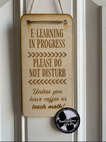 Learning Do Not Disturb Sign