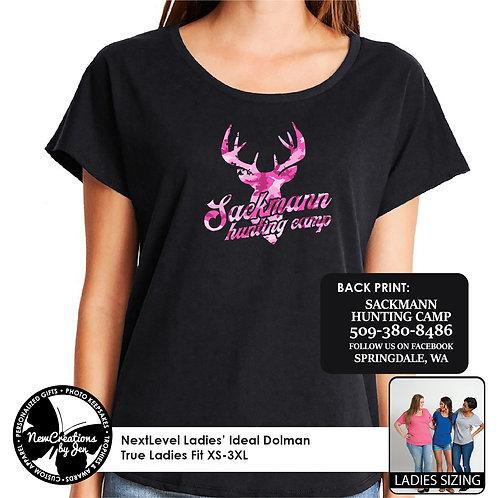SCH - NextLevel Ladies' Dolman T-Shirt