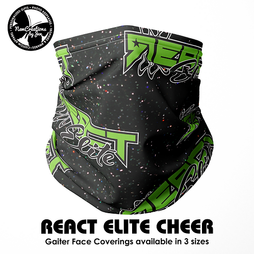 REACT Gaiter Face and Neck Coverings