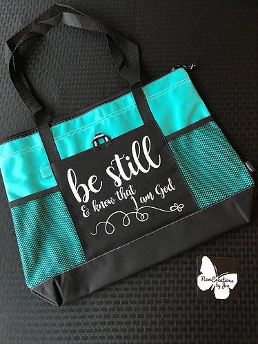 1100 Large Custom Zippered Bag