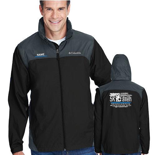 5K 2015 Columbia Men's Glennaker Lake Rain Jacket