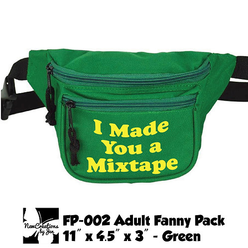 FP-002 Fanny Pack w/ 3 Pockets