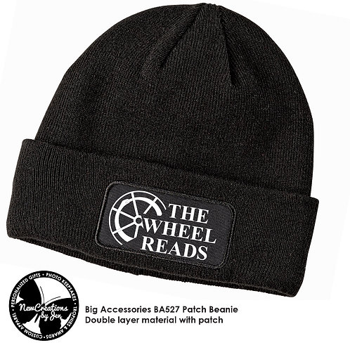 TWR - Beanie Cap with Patch Art