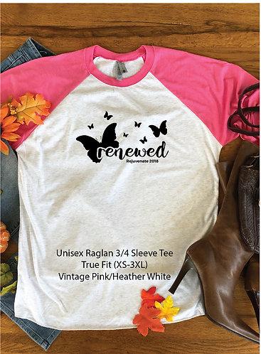 FH Rejuvenate - 6051 Unisex Raglan Baseball T-shirt