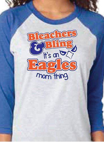 Bleachers & Bling Raglan (6051)